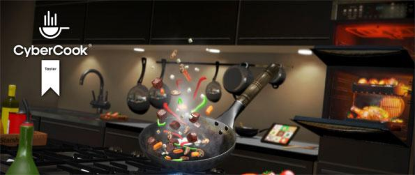 CyberCook Taster - Try new recipes by cooking them virtually in this new VR experience, CyberCook Taster!