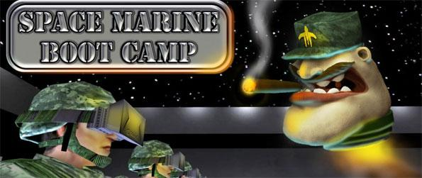 Space Marine Boot Camp - Do you have what it takes to become a Space Marine? You'll know soon enough in this humorous shooter game, Space Marine Boot Camp! Enroll today!