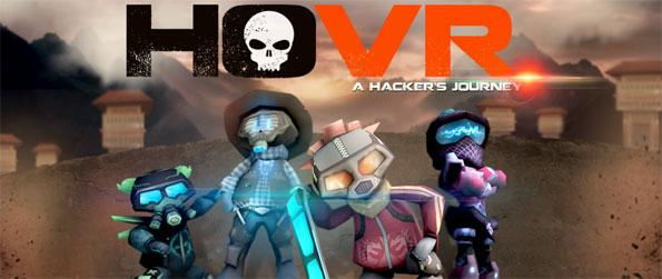 HOVR: A Hacker's Journey - Deliver a crucial batch of codes first by outrunning the other hacker bots, collecting power-ups, and performing amazing hoverboard tricks in HOVR!