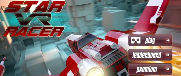 Space VR Racer - Navigate though a maze of obstacles and go through as many checkpoints as you can in Space VR Racer!