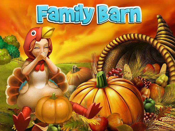 Celebrate Thanksgiving with Family Barn