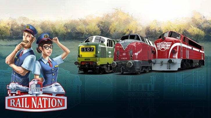 Revamped Graphics And a New Locomotive for Rail Nation