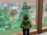view from upstairs in Second Life