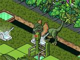 Habbo Hotel Dinosaur Mini Game
