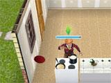 The Sims Free Play: cooking breakfast