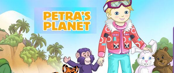Petra's Planet - Travel to different countries and learn about animals while making friends in Petra's Planet!