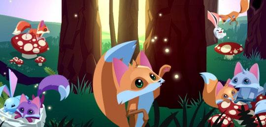 Be a Fox in Animal Jam