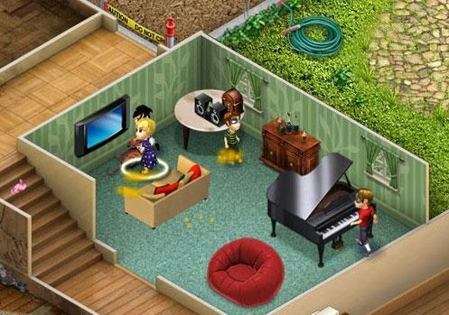 Virtual families 2 terra dos mundos virtuais for Create a virtual house