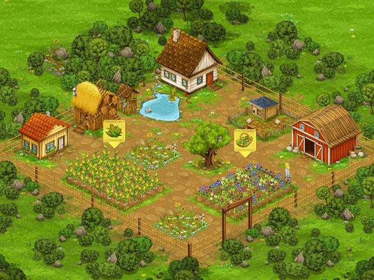 Grow Amazing Crops in Big Farm