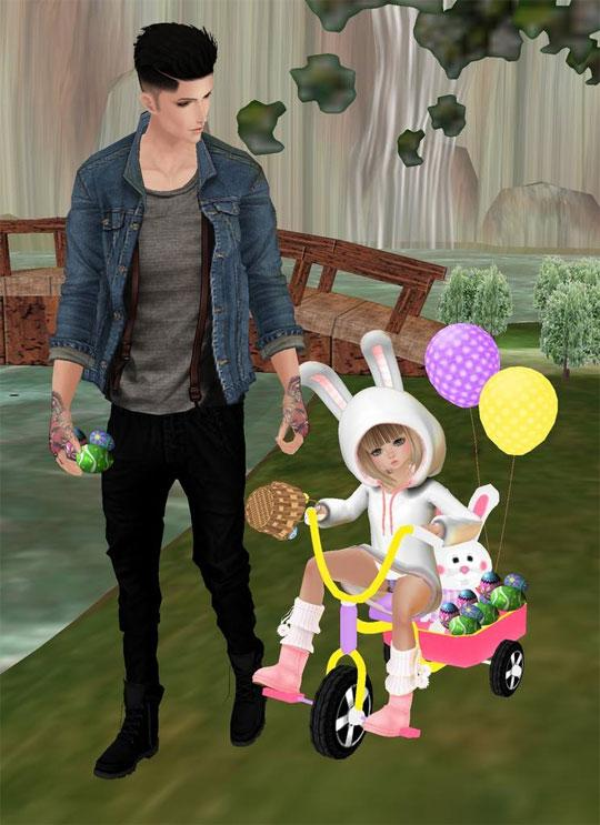 Enjoy Easter in IMVU