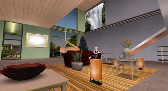 Relax in your Own Home in Second Life