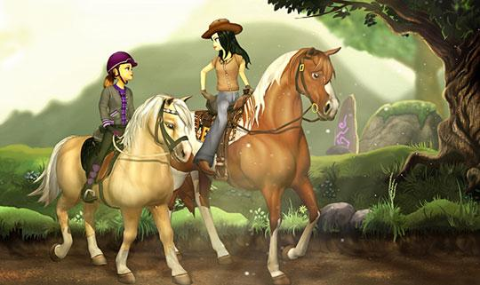Ride Beautiful Horses in Star Stable