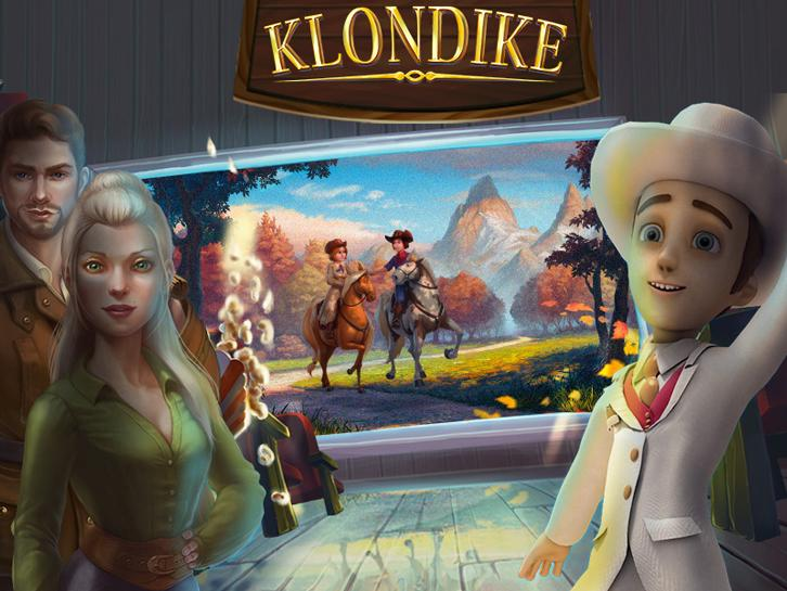 Visit the House of Horrors in Klondike!