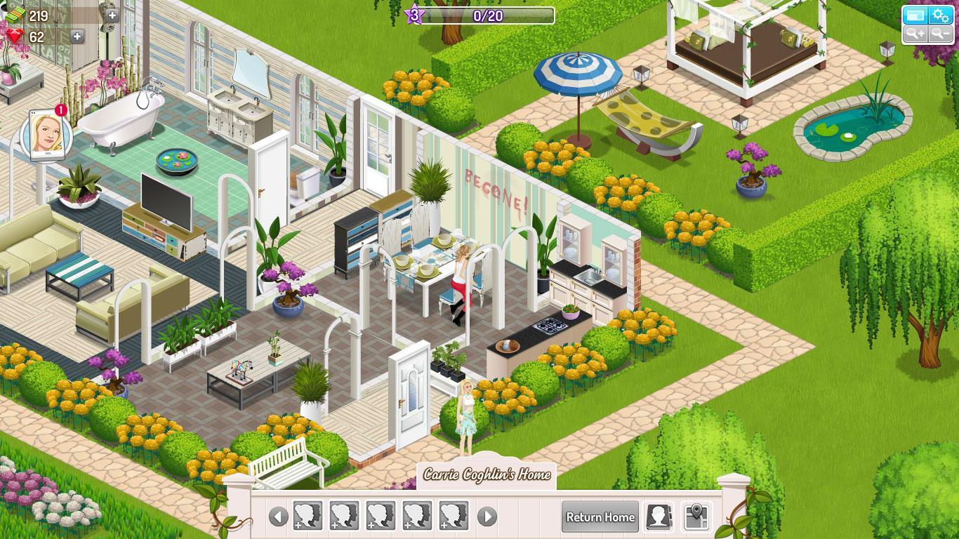 House Decoration Games Suburbia 2 Virtual Worlds Land