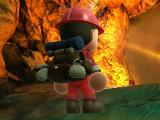Exploring a cave in Spelunker World