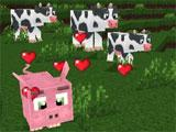 Game Play of World of Cubes Survival Craft
