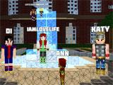 World of Cubes Survival Craft: Making New Friends