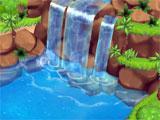 Moana Island Life beautiful waterfall