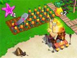 Farmville: Tropic Escape: Harvesting crops