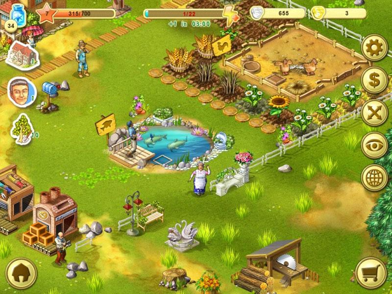Farm up virtual worlds land for Koi pond builders east rand