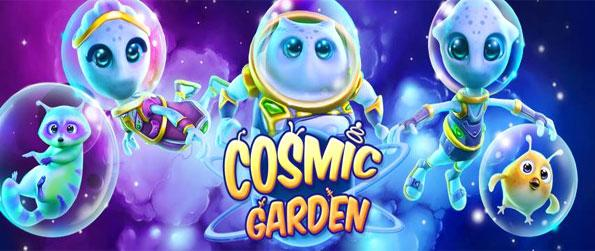 Cosmic Garden - Build your alien city in fantastic 3D with a stunning new game.