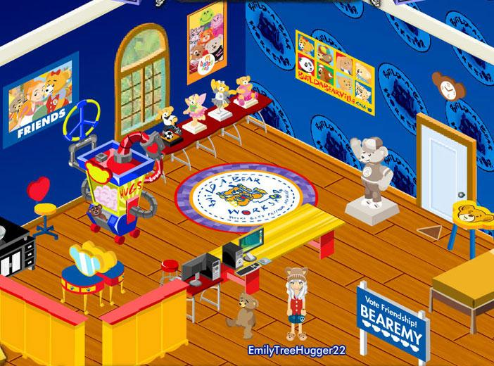 Build a bearville virtual worlds land for Virtual house building games online