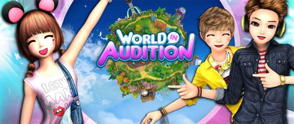 World in Audition - Become a part of this online sensation that's a blend of both virtual world and dancing games.