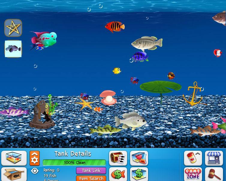 Fish world virtual worlds land for Fish world games