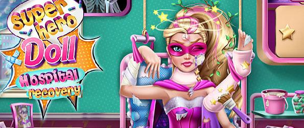 Superhero Doll Hospital Recovery - Dedicate medical attention to a super hero doll in this simple casual game.