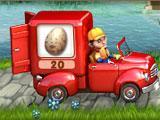 Crop Busters Red Van level