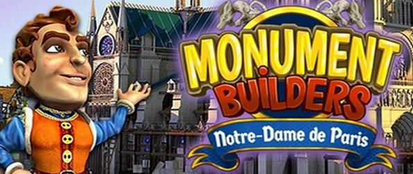 Monument Builders: Notre Dame - Learn how the majestic cathedral was built in this fast pace time management game, Monument Builders: Notre Dame!