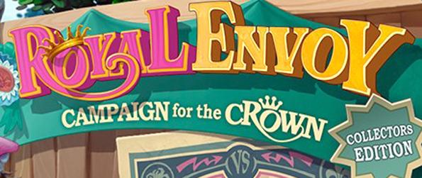 Royal Envoy: Campaign for the Crown Collector's Edition - Help the king! Only you stand between him winning or losing the crown!