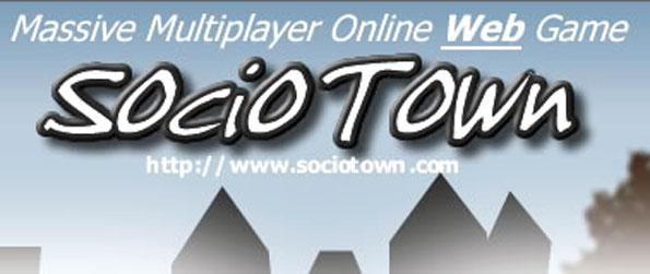 SocioTown - Explore a 3D virtual world where you can chat and socialize with other players while you work your way up the social ladder in SocioTown