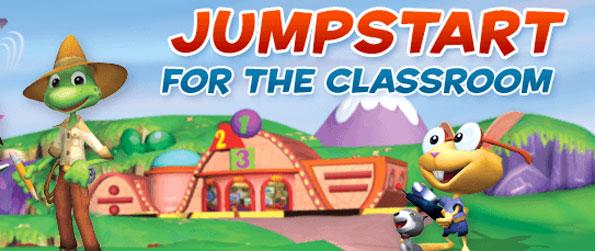 Jump Start - Enjoy learning with your kids through fun activities and play award winning games approved by state standards to further enrich your child's learning and keep them entertained with Jump Start.