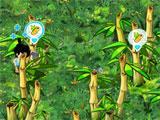 Bongiland: Cutting bamboo