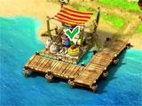 Docks completed in Moai: Build Your Dream