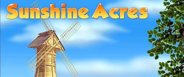 Sunshine Acres - Manage your time successfully and get the highest score for each stage.