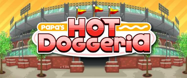 Papa's Hot Doggeria - Prepare your customers' order ito your best of ability and get a high rating from your customers to gain more tips to upgrade your shop in Papa's Hot Doggeria!