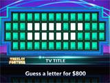 Wheel of Fortune trying to figure out the word