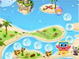 Bubble Words: Letter Splash map