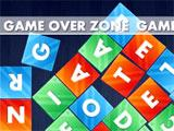 Wordrop: Game over line
