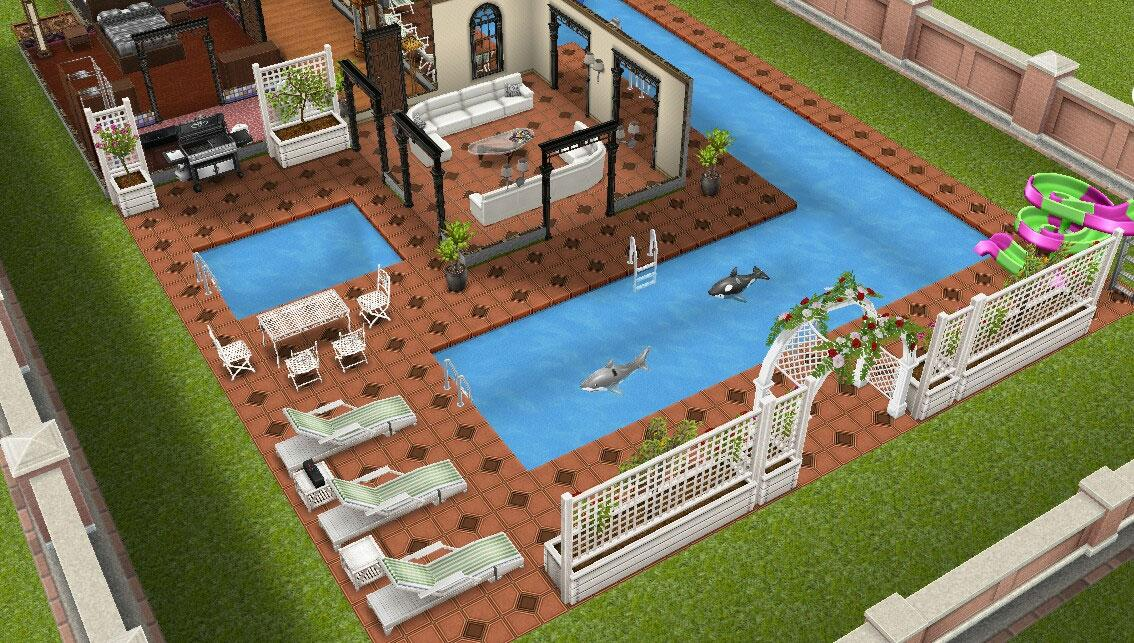 How to make a second floor on sims freeplay the sims for How to make a second floor on sims freeplay