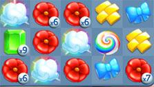 Wizard of Oz: Magic Match: Rainbow lollipop with multipliers