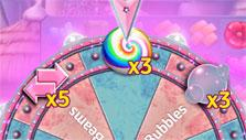Glinda's Wheel of rewards in Wizard of Oz: Magic Match
