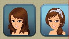 Creating an avatar in High School Story