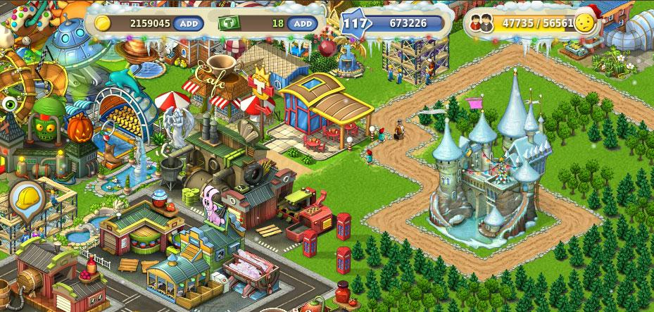 Township Game Building Materials