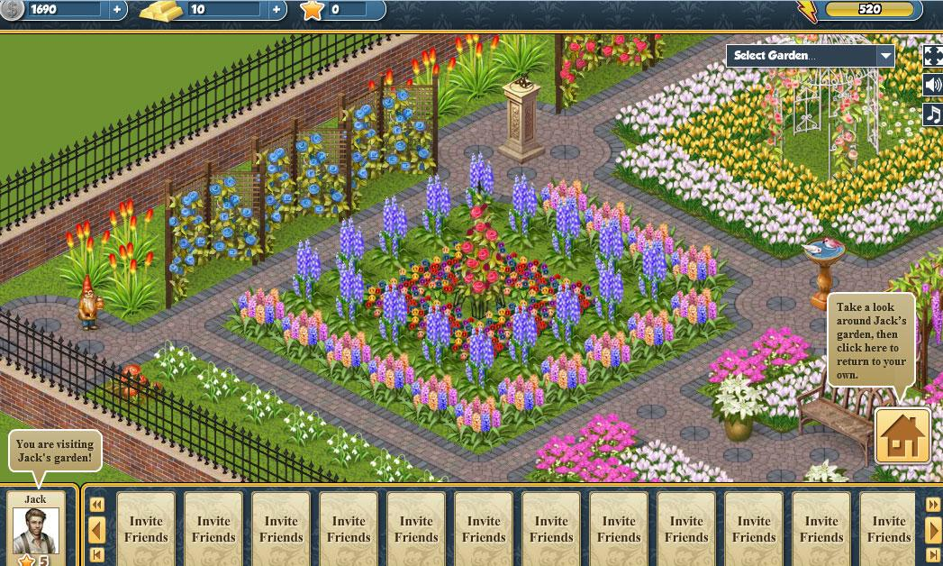 mahjong garden game