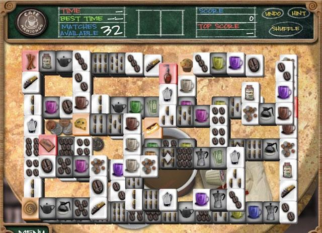 cafe mahjong
