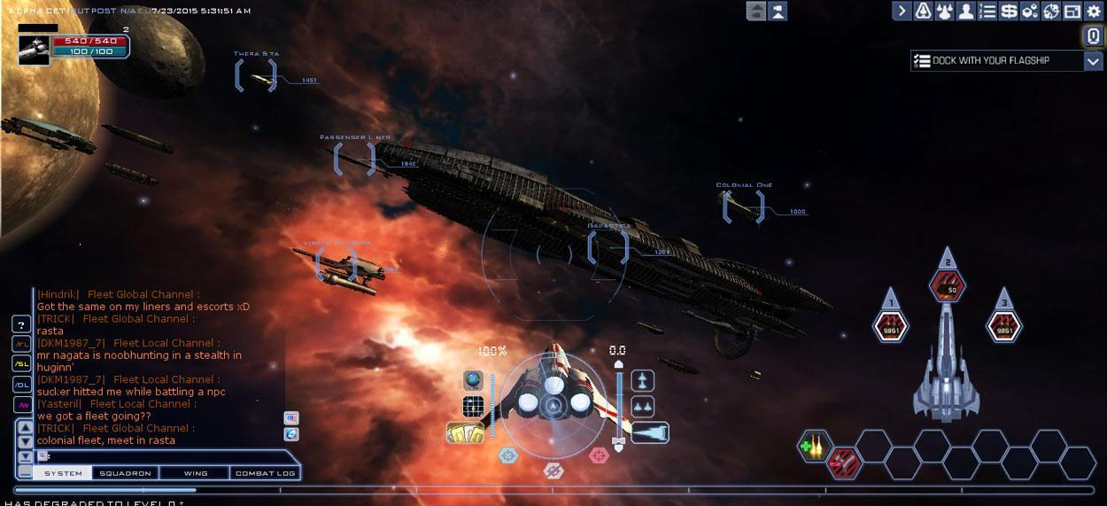 battlestar online