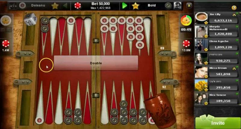 backgammon social